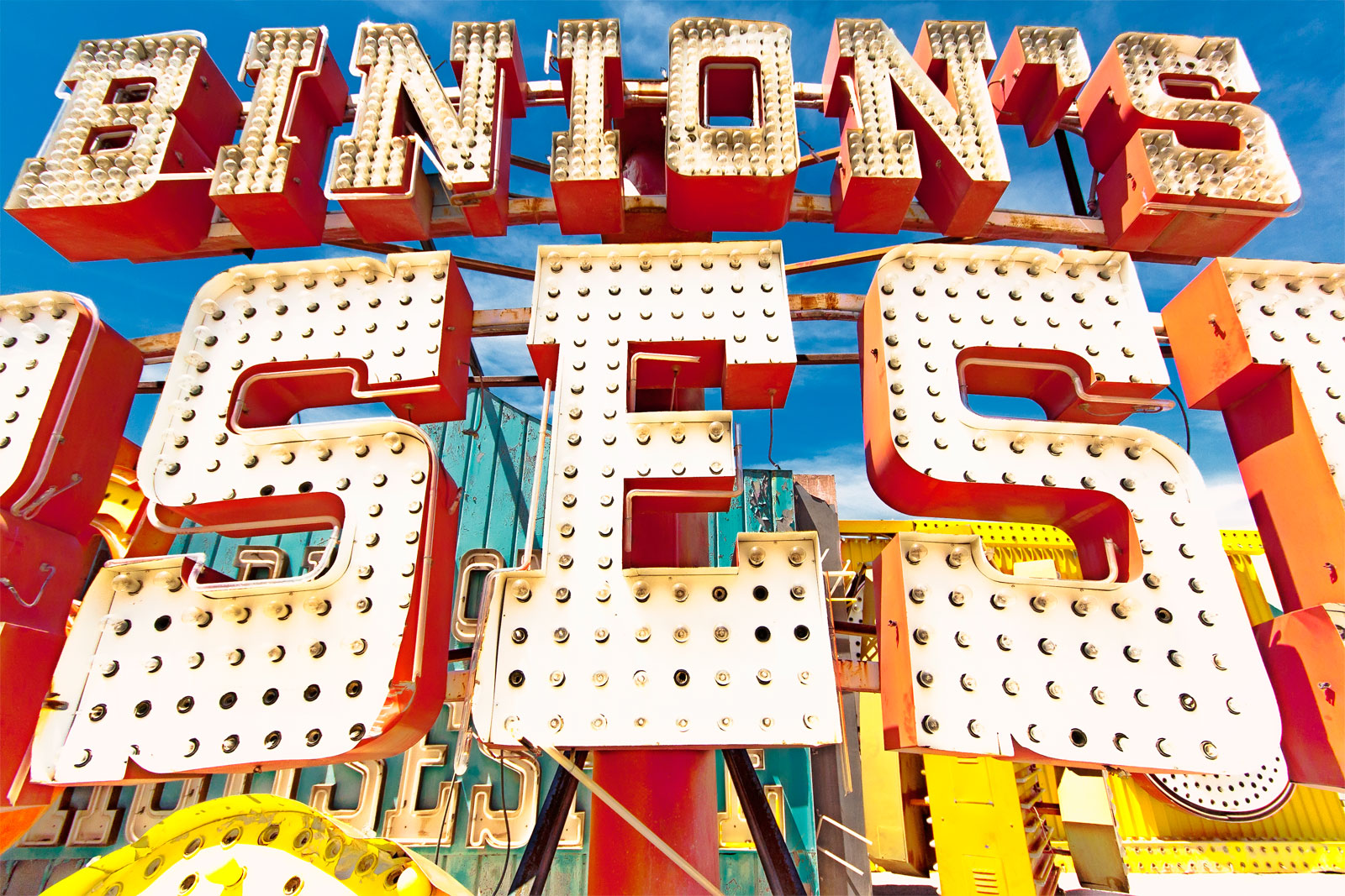 Binion's at Boneyard Neon Museum, Las Vegas