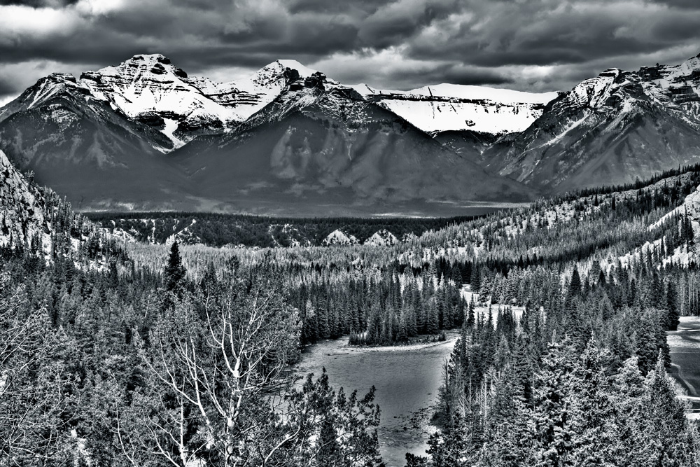 Canadian Rockies view from Banff