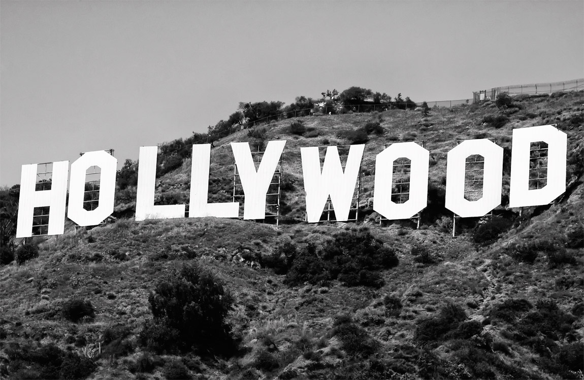 Hollywood Category Black White