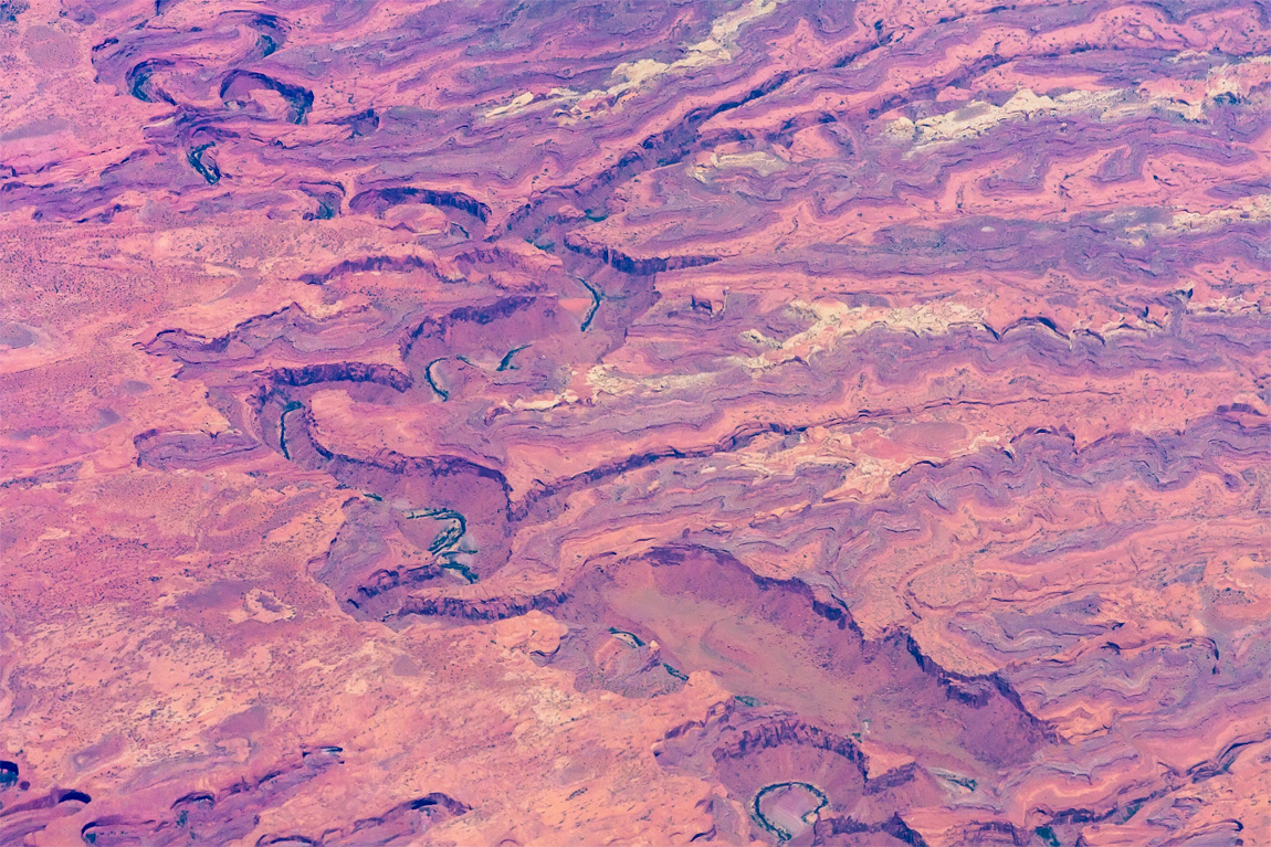 Red Canyon from the air